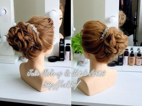 簡單蓬鬆低馬尾髮型 綁法教學 Low ponytail hairstyles tutorial | Doovi