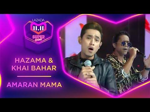 Amaran Mama   Hazama & Khai Bahar  #MyLazada1111