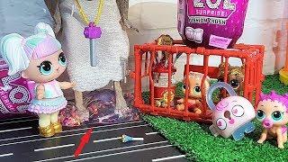 КУКЛЫ ЛОЛ И БАБКА ГРЕННИ ЛОЛ СЮРПРИЗ СЛАЙМ) Мультики с куклами #ЛОЛ #lol surprise