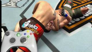 UFC 2009 Undisputed Submissions tutorial  trailer