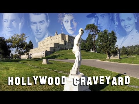 FAMOUS GRAVE TOUR - Forest Lawn Glendale #3 (Humphrey Bogart, Mary Pickford, etc.)