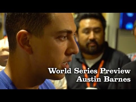 Austin Barnes on Mentally Preparing for the World Series | Los Angeles Times