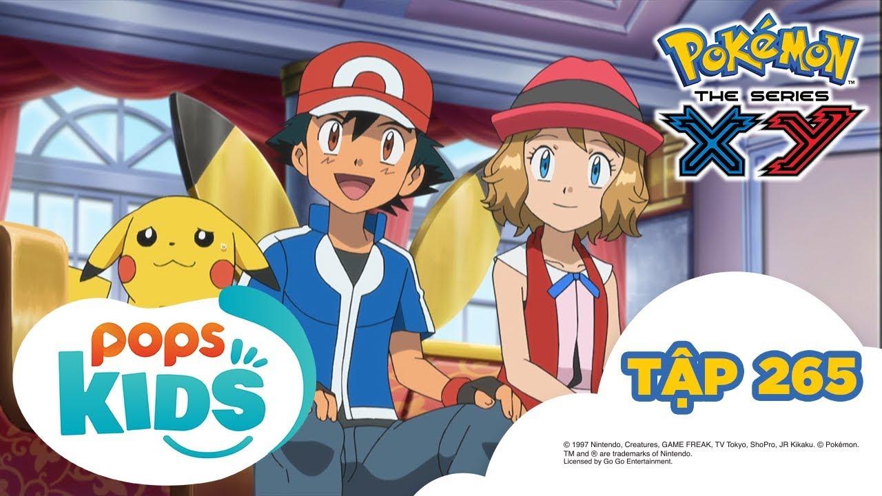 Pokémon Tập 265 – Pikachu Là Ngôi Sao? Tham Gia Đóng Phim! – Hoạt Hình Tiếng Việt Pokémon S18 XY