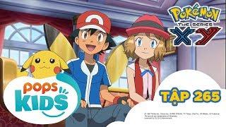 Pokémon Tập 265 - Pikachu Là Ngôi Sao? Tham Gia Đóng Phim! - Hoạt Hình Tiếng Việt Pokémon S18 XY