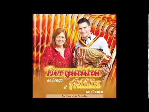 "Borguinha De Braga & Adilia De Arouca ... "" A Pomba Da Dona Adilia "" Novo CD 2014"