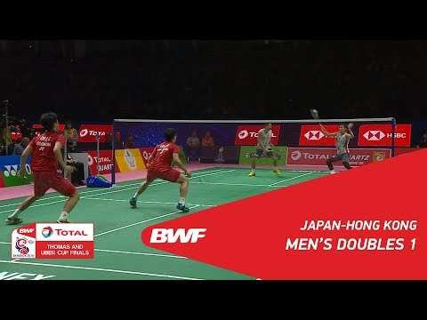Thomas Cup | MD1 | KAMURA/SONODA (JPN) vs LEE/OR (HKG) | BWF 2018