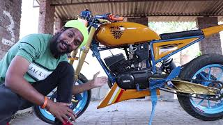 YAMAHA RX 100 & 135 special modified Edition | BSB VLOGS