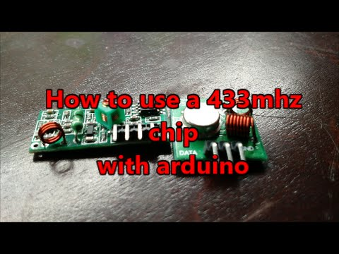 433mhz TX and RX from Banggood for Arduino