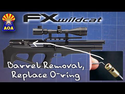 FX Wildcat Barrel Oring Repair
