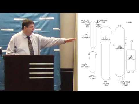 David LeBlanc - Potential of Thorium Fueled Molten Salt Reactors @ TEAC3