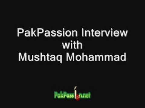 PakPassion Interview with Mushtaq Mohammad