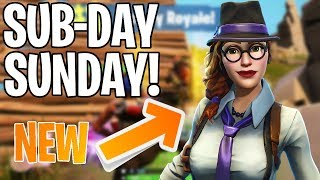 SUB-DAY SUNDAY! 330+ WINS | 2000 VBUCK GIVEAWAY! PS4 PRO | Fortnite Battle Royale