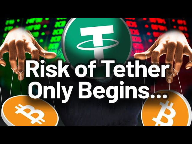 Here's WHY Tether Is Still A RISK to BITCOIN! BEWARE!!