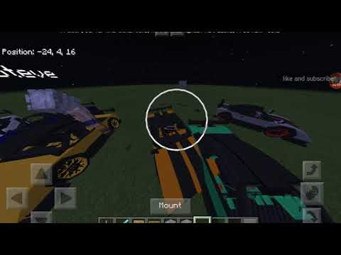 Pagani car Minecraft mod review (sry about the delay on first half) {review 1}