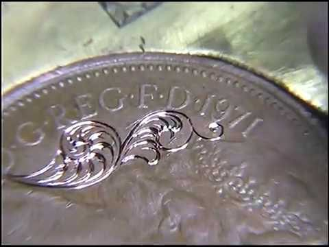How to Hand Engrave Filigree Scrollwork