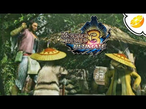 Monster Hunter 3 Ultimate - Citra Emulator Canary 971 (GPU Shaders, SLOW) [1080p] - Nintendo 3DS - 동영상