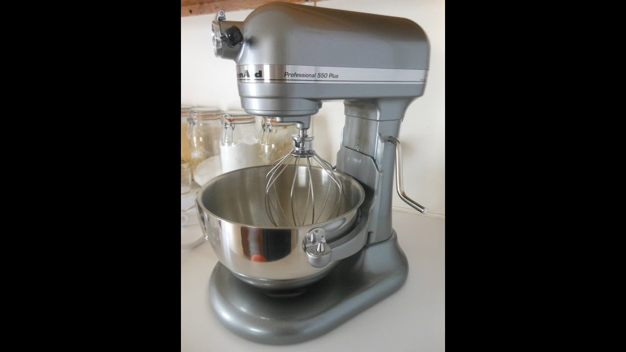 Unboxing Kitchenaid Pro 550 Hd Stand Mixer In Contour