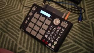 MPC 500 beat: gamelan + DMX samples