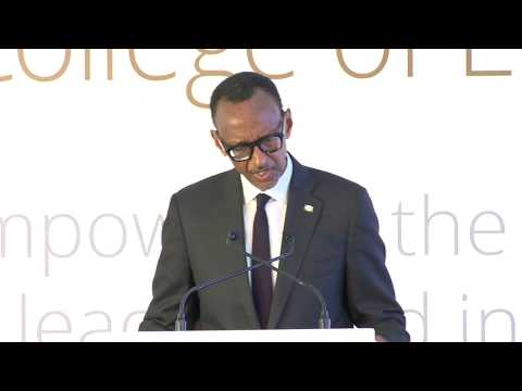 Inauguration of CMU-Africa  Campus | Remarks by President Ka