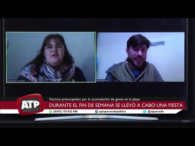 Mariela Safón, Pta. Vecinal El Chaquito y Federico Miranda (Espacio Somos Monte Vera) - ATP 13 07 20
