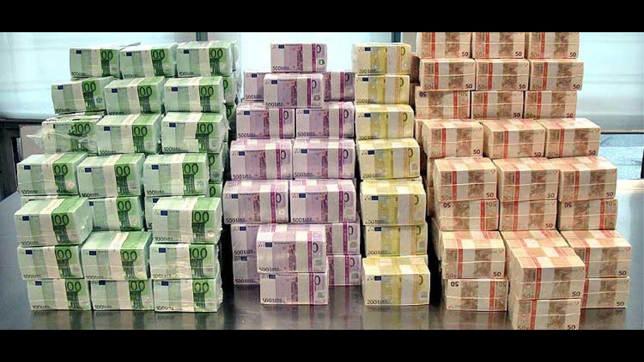 фото евро денег