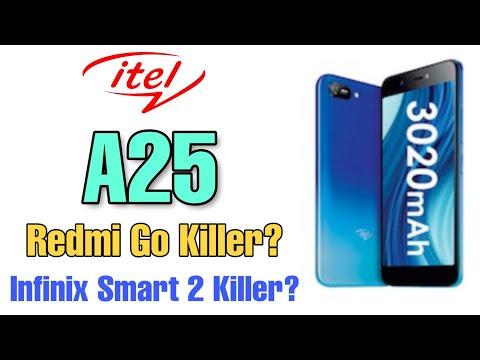 [₹3,999] Itel A25 - Redmi Go or Infinix Smart 2 Killer? By Online Tech Guru