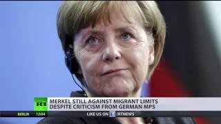 German MPs slam Merkel's refugee policy ahead of re election bid