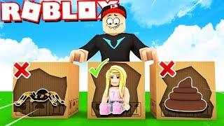 NIE WYBIERZ ZŁEGO PUDEŁKA W ROBLOX! (Roblox Unboxing Simulator) | Vito i Bella