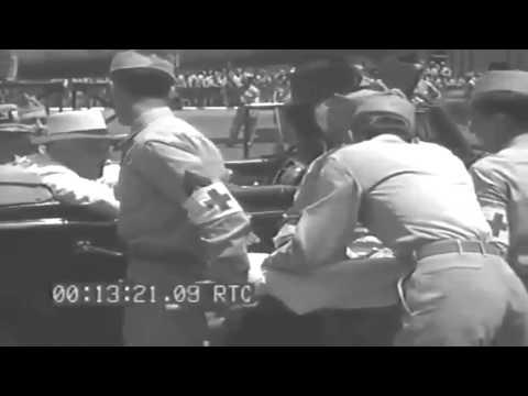 FDR At Press Conference, Hickam Field & AIEA Naval Hospital, Hawaii, 07/30/1944 (full)