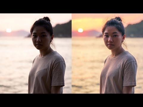 Photoshop Tutorial: Low Light Sunset Portrait thumbnail