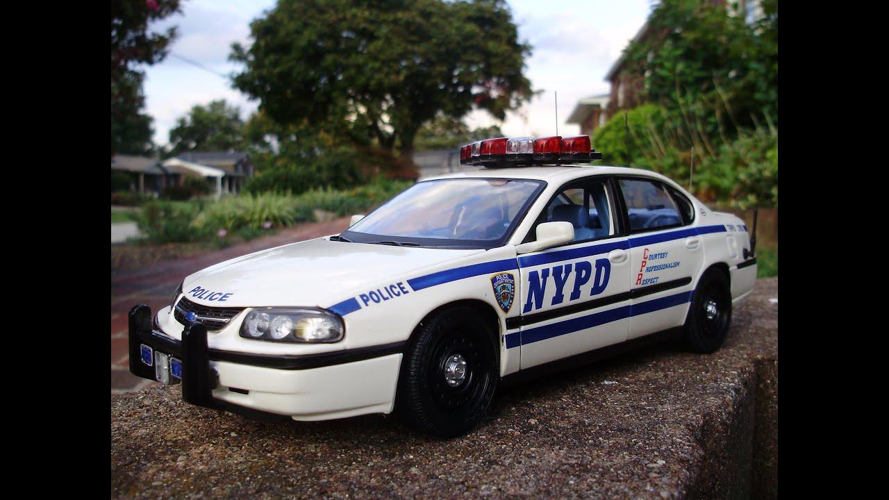 Noah's custom 1:18 NYPD Chevrolet Impala diecast police ...