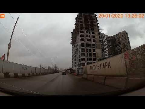 Прогулка на авто. Москва, район Кожухово и Некрасовка 3