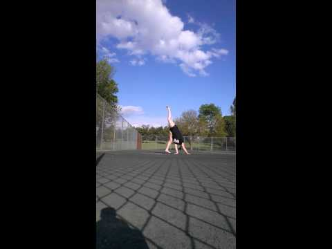 Fat Girl Cartwheel FAIL