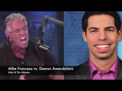 Mike Francesa vs. Damon Amendolara & CBS Sports Network