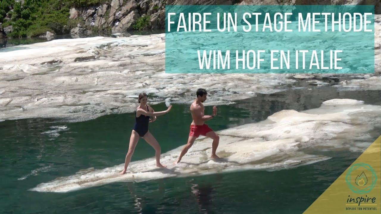 Stage Wim Hof - comment pratiquer en Nature