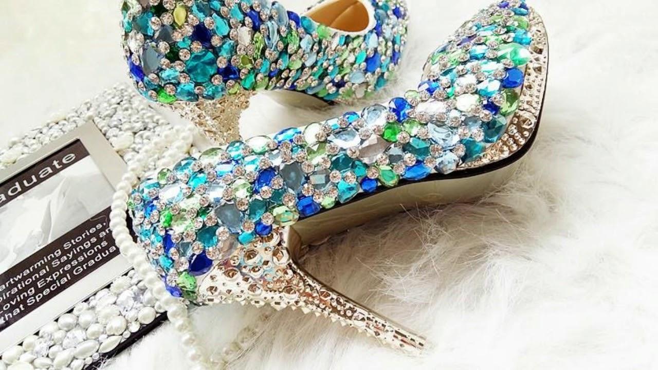 Latest Designs Of wedding Heels/Shoes For Women/Girls 2017 by ritu ...