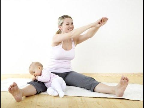 Упражнения для живота после родов [часть 2]