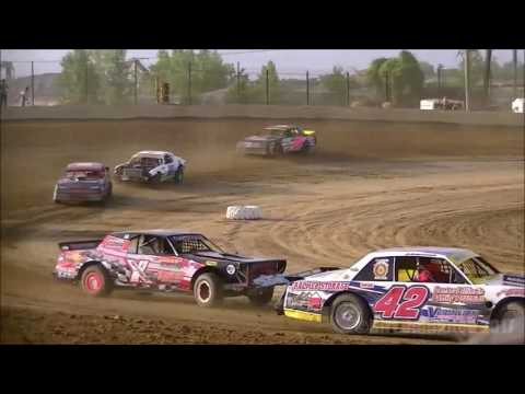 6.17.17 | UMP Factory Stocks Heats & Feature | Charleston Speedway