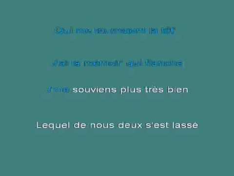 Jeanne Moreau   J'ai la memoire qui flanche [karaoke]
