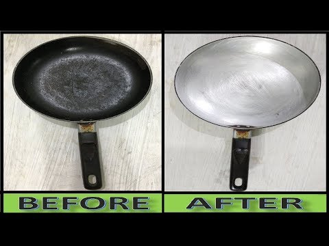 Stain pan Cleaning