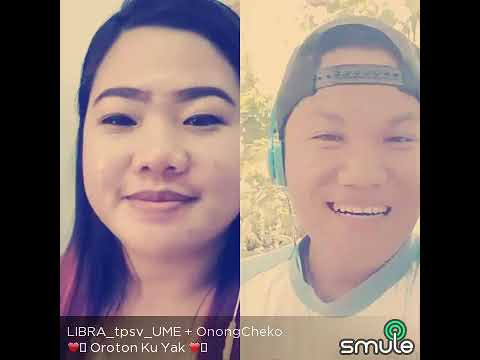 Oroton ku yak (cover by me)#Smule