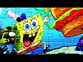 Spongebob Squarepants Jigsaw Puzzle Games Nickelodeon Patrick Star, Gary, Karen, Plankton, Sandy video
