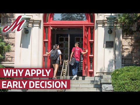 Best Decision Ever: Why You Should Apply Early Decision to Muhlenberg College