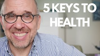 Healthy lifestyle: only 5 behaviors matter (ignore the rest)