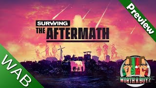 Surviving the Aftermath Preview - City Building Mad Max Style