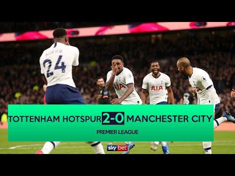 Tottenham 2-0 Manchester City | Bergwijn's debut stunner dents City's faint title hopes