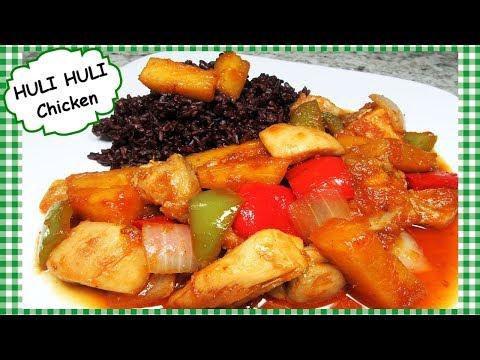 Easy One Pan HULI HULI Hawaiian Chicken Dinner Recipe