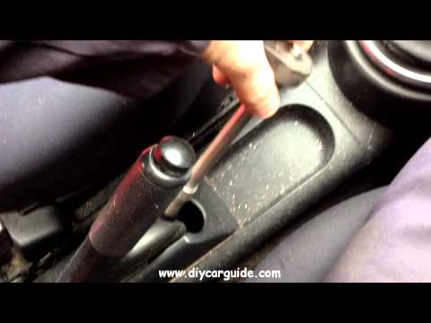 Ford Fiesta Handbrake Adjustment