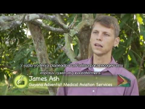 Pastor James Ash, volunteer mission pilot in Guyana. Living and working by faith?
