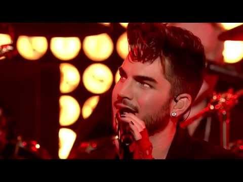Queen + Adam Lambert - Radio Gagaga - New Years Eve London 2014